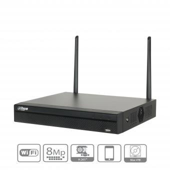 Dahua - NVR2104HS-W-4KS2 - NVR - 4 Kanal - Wifi