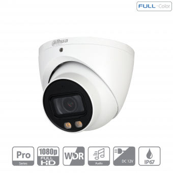 Dahua - HAC-HDW2249TP-A-LED-0360B - HDCVI - Eyeball