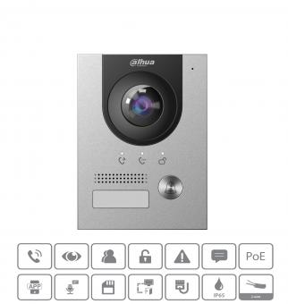 Dahua - VTO2202F-P-S2 - Kamera - Hybrid