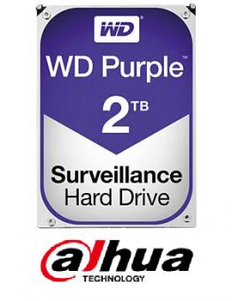 Western Digital - WD20EVRX - 2TB HDD WD Dahua