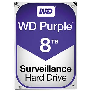 Western Digital - WD82PURZ - 8TB HDD WD Purple