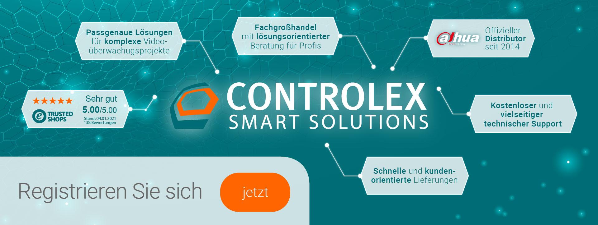 Banner Controlex Vorstellung