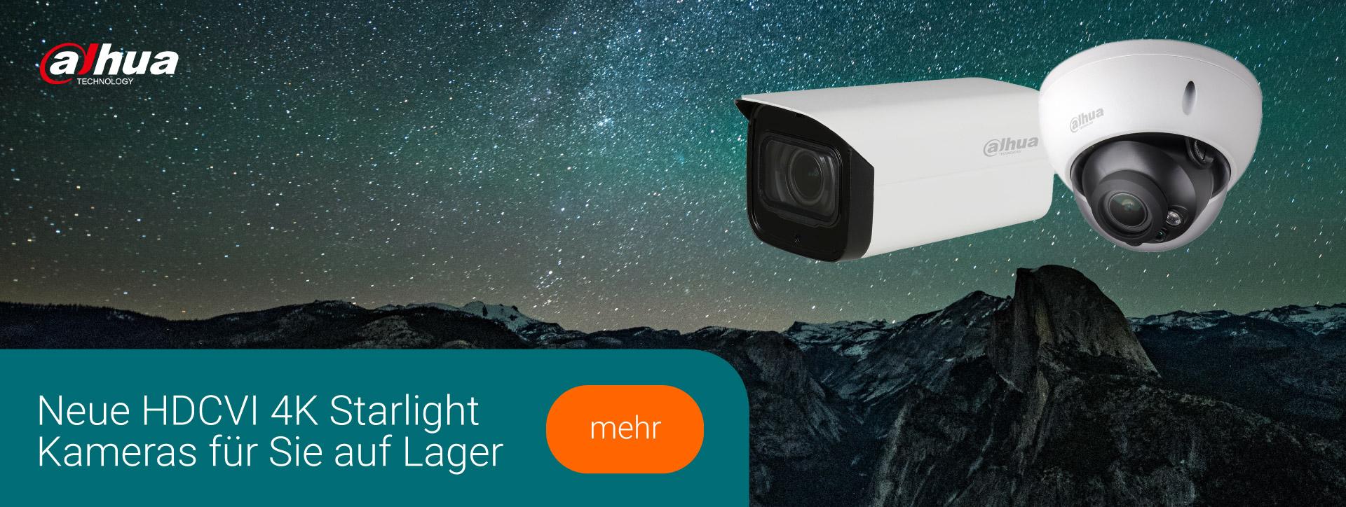 Banner Dahua HDCVI 4K Starlight