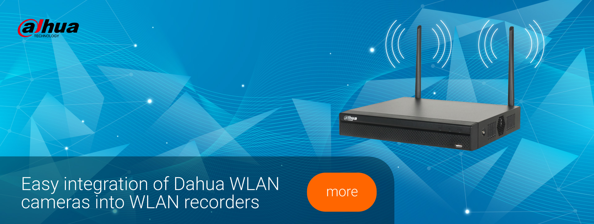 Banner Dahua WLAN Recorder
